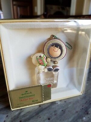 Frosty Friends 1980 Ornament Hallmark Collector's Series Cool Yule First Series