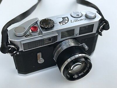 Canon 7 Rangefinder with 2 lenses and