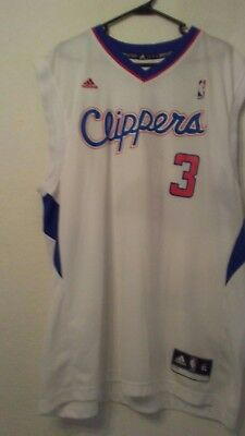 56ba0f53 cheapest los angeles clippers chris paul jersey white size xl nba by adidas  7f6c0 d945e