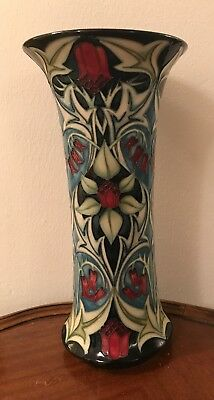 Limited Edition Moorcroft Pottery Vase 'Isabella' By Sian Leeper 2004 80/250
