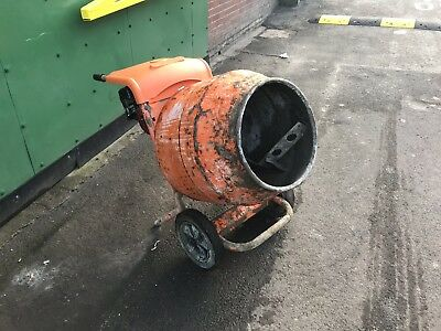 Belle Petrol Cement Mixer 150 Mini Mix Honda Gx120 Engine Gwo