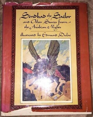 Sindbad The Sailor & Other Stories From The Arabian Nights 1978 Printing HB w/DJ