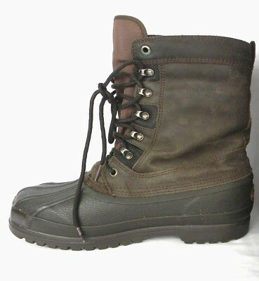 e936381abb5 DONNER MOUNTAIN LEATHER/RUBBER Insulated Boots, Men's 11M - $34.99 ...