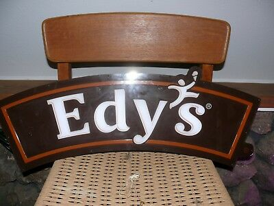 Edy's Ice Cream Single Side Lighted Sign