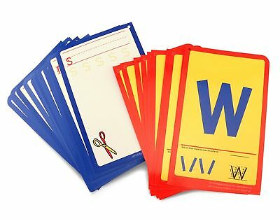 Hygloss Products Student Alphabet Language Cards, Lowercase Letters - 32...