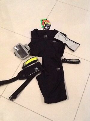 Running Bundle - Vest, Pants, Reflectors, Phone Armband & Carry Waist Bag
