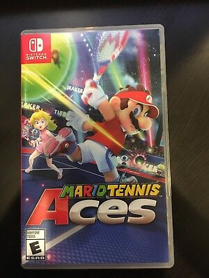 Mario Tennis Aces (Nintendo Switch, 2018) - Barely Used