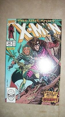 The Uncanny X-Men 266 Aug 1990 Marvel First Appearance Of Gambit high grade