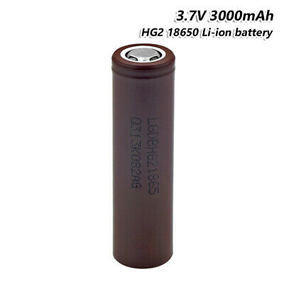 High Drain LG Rechargeable 18650 Battery 3.7V 3000mAh Max 20A For Vape Torch 5F