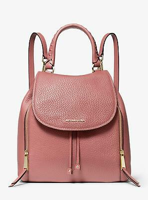149a587f6d66 best price closeout michael kors viv large leather backpack rose pink ebay  sale 8f5e5 30a83 4ce14