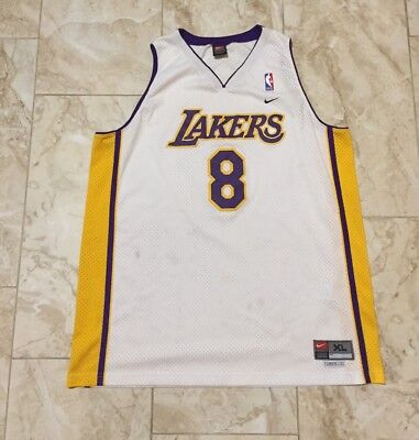 KOBE BRYANT NIKE Team Los Angeles Lakers Authentic Reversible ... d93721a06