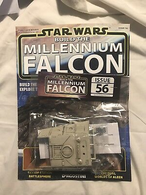 DEAGOSTINI STAR WARS BUILD THE MILLENNIUM FALCON Issue 56 - Upper Hull Frames
