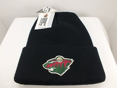 Minnesota Wild Vintage NHL cuff Knit Beanie winter hat MADE IN USA New By  4.0 07d31d5bca8d