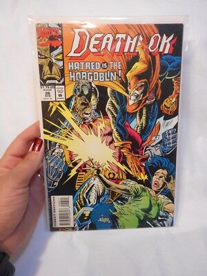 1993 Marvel Comics Deathlok #26 VF/NM