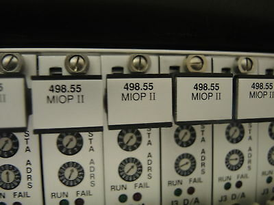 MTS MIOP-II 4 channel  modules , Model 498.55 #1