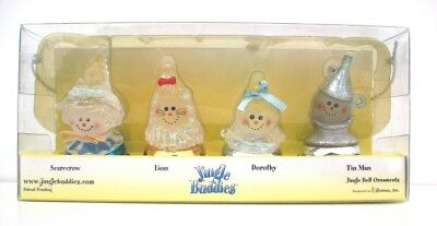 Wizard of Oz Jingle Bell Ornaments Jingle Buddies Collection 4 Piece Set