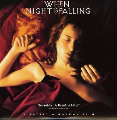 WHEN NIGHT IS FALLING a Patricia Rozema  SEALED LaserDisc mmoetwil@hotmail.com