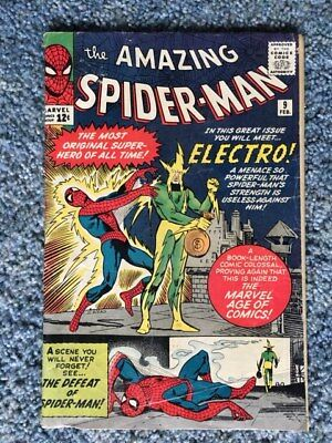 Amazing Spider-Man 9 (1963, First Series) - 1st Electro