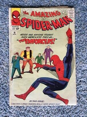 Amazing Spider-Man 10 (1963, First Series) - 1st Enforcers