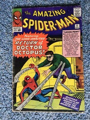 Amazing Spider-Man 11 (1963, First Series) - 2nd Doctor Octopus