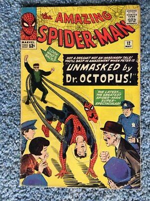Amazing Spider-Man 12 (1963, First Series) - Early Doctor Octopus