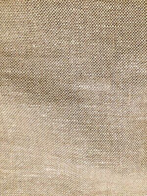 HOLLY HUNT Linen natural heavy duty Belgian large remnant new