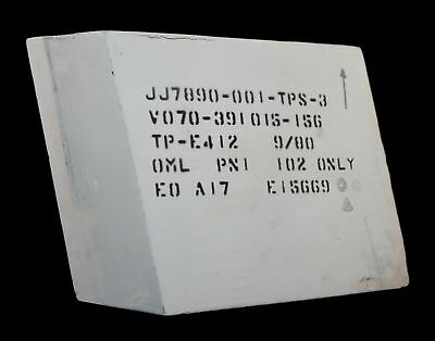 NASA Space Shuttle Columbia OV-102 Orbiter External Fit Check Reference Tile 6x5