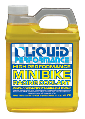 Liquid Performance Mini Bike Racing Coolant Antifreeze 1900ml 64Fl.oz RRP$34.95