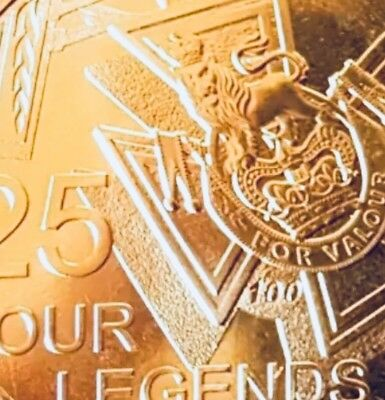 2016 Australian 25 cent Coin Only, Our Legends Coin Only Victoria Cross.