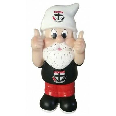 St Kilda Saints Official AFL Thumbs Up Garden Gnome Gift Box 30cm