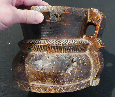 "RARE African-American Mortar & Pestle for ""Magic Mushrooms"" Slave Plantation, SC"