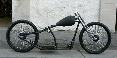 2018 Custom Built Motorcycles Bobber  MMW OG CLASSIC    26,26  BOARDTRACK RACER WITH FAT SPOKE WIRE WHEELS