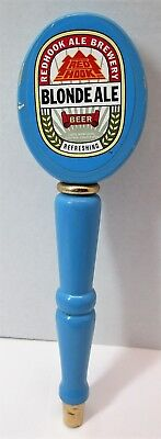 Vintage Redhook Ale Brewery Blonde Ale Beer Wooden Beer Tap Handle Pull Knob