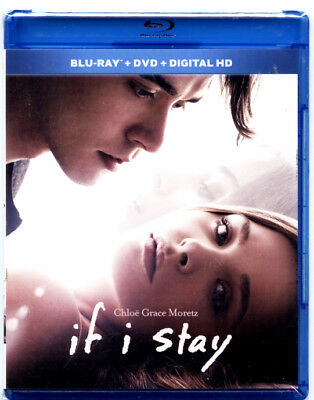 If I Stay (Blu-Ray/DVD combo, 2014) + DHD **BRAND NEW SEALED**