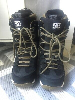DC Snowboard Boots Size 10 Man