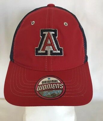 430bb663 ... official womens arizona wildcats official ncaa adjustable hat cap by  zephyr nwt 17af8 42187
