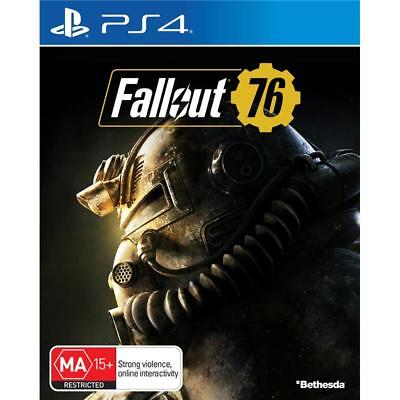 Bethesda Fallout 76 PlayStation 4 PS4 GAME BRAND NEW FREE POSTAGE