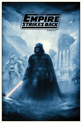 Y-40 Star Wars Empire Strikes Back Darth Vader MOVIE 27x40 24x36 Hot Poster