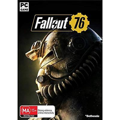 Bethesda Fallout 76 PC GAME BRAND NEW FREE POSTAGE
