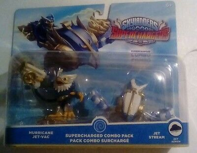 Skylanders Superchargers Hurricane Jet-Vac Jet Stream Combo Pack Free Shipping