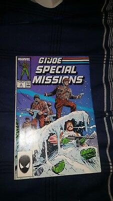 G I Joe Special Missions No 6 August 1987 Marvel Offer Encouraged