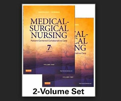 Medical-Surgical Nursing: Patient-Centered Collaborative Care, 7th Edition
