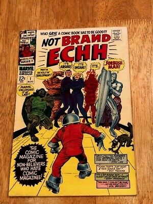 NOT BRAND ECHH 4 Ish Lot! #'s 1, 3,4,5 (Aug -Dec 1967 Marvel) Parodies of Heroes
