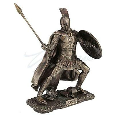 Statues Hector, Trojan Prince In The War, Cold Cast Bronze, 9 1/8 Tall