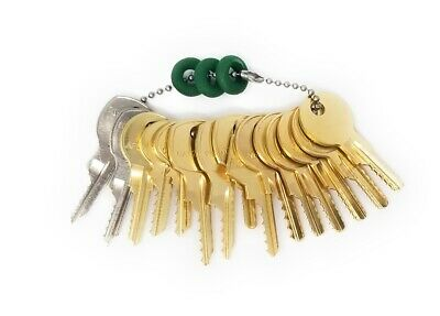 15 Letterbox and Cabinet Depth Key Set with Bump Rings