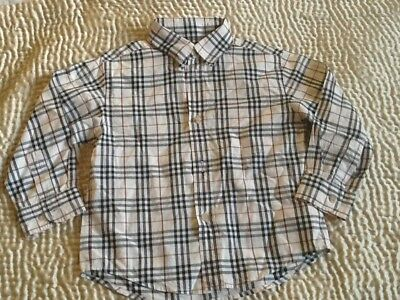 Burberry Camicia Check 4 anni