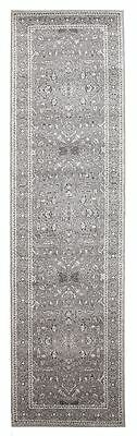 Hallway Runner Rug Hall Rug Grey Traditional Extra Long Mat FREE DELIVERY*