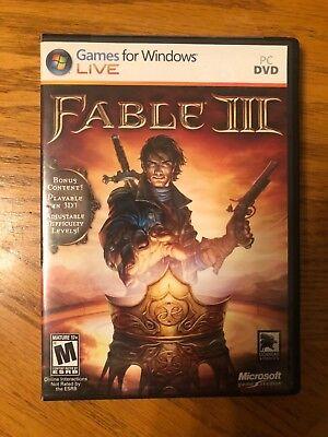Fable III PC Brand New Sealed