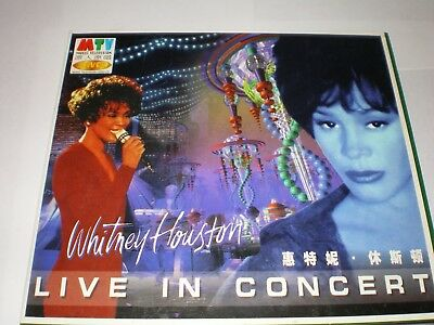 Whitney Houston Vcd Live In Concert Digipack Rare Taiwan