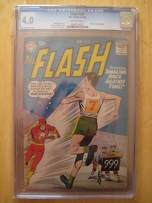 DC Comics FLASH 107 cbcs/ cgc 4.0 1959 silver age